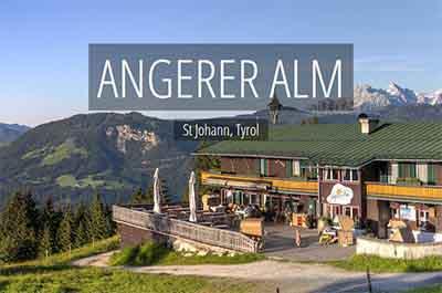 Angerer Alm Tyrol Austria