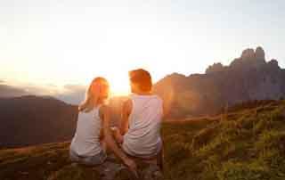 No time for honeymoon? Grossarler Hof