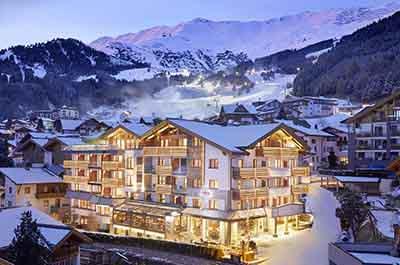 Hotel Tirol Fiss Serfaus-Ladis-Fiss Tyrol Austria Lifestyle-Hotel Winter holidays Skiing