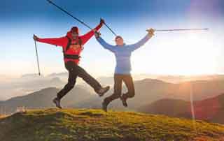 Walking & hiking week in Tyrol Hotel Pirchner Hof Farm Reith Tyrol Austria