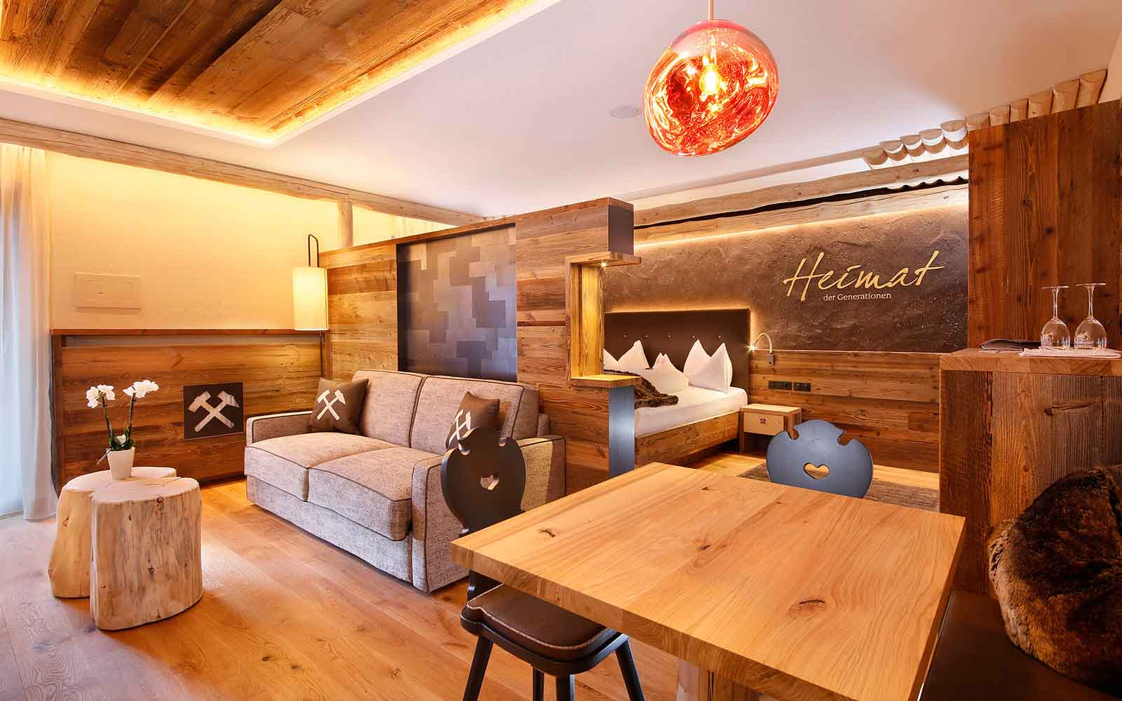Plunhof Ridnaun South Tyrol Italy Spa Wellness Hotel