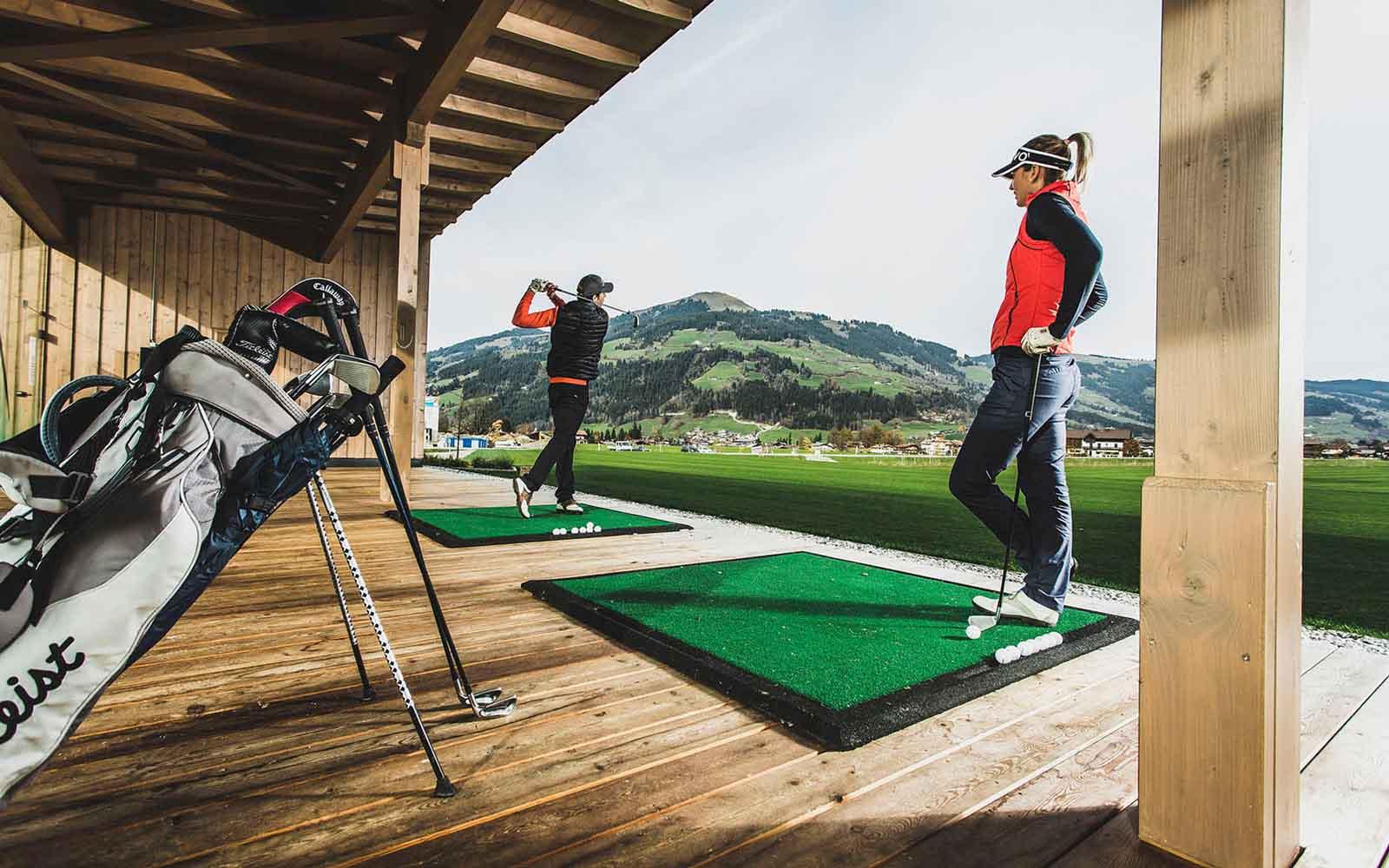 Play better golf @ Relais & Châteaux Rosengarten