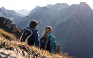 Mountain experience for two Singer Sporthotel & SPA Berwang Tyrol Austria