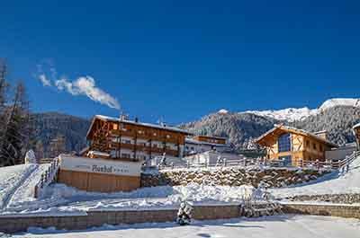 Winter Plunhof Ridnaun South Tyrol Italy Spa Wellness Hotel - Niche Destionations