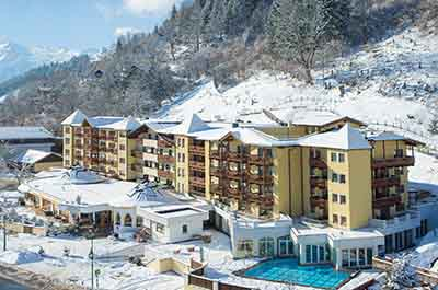 Winter Sporthotel Alpenblick Salzburger Land Austria
