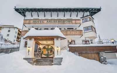 Arlberghoehe weeks Hotel Arlberghoehe Arlberg Tyrol Austria