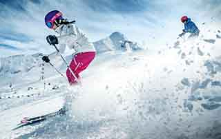 Glacier ski break Sporthotel Alpenblick Zell am See Salzburger Land Austria Niche Destinations