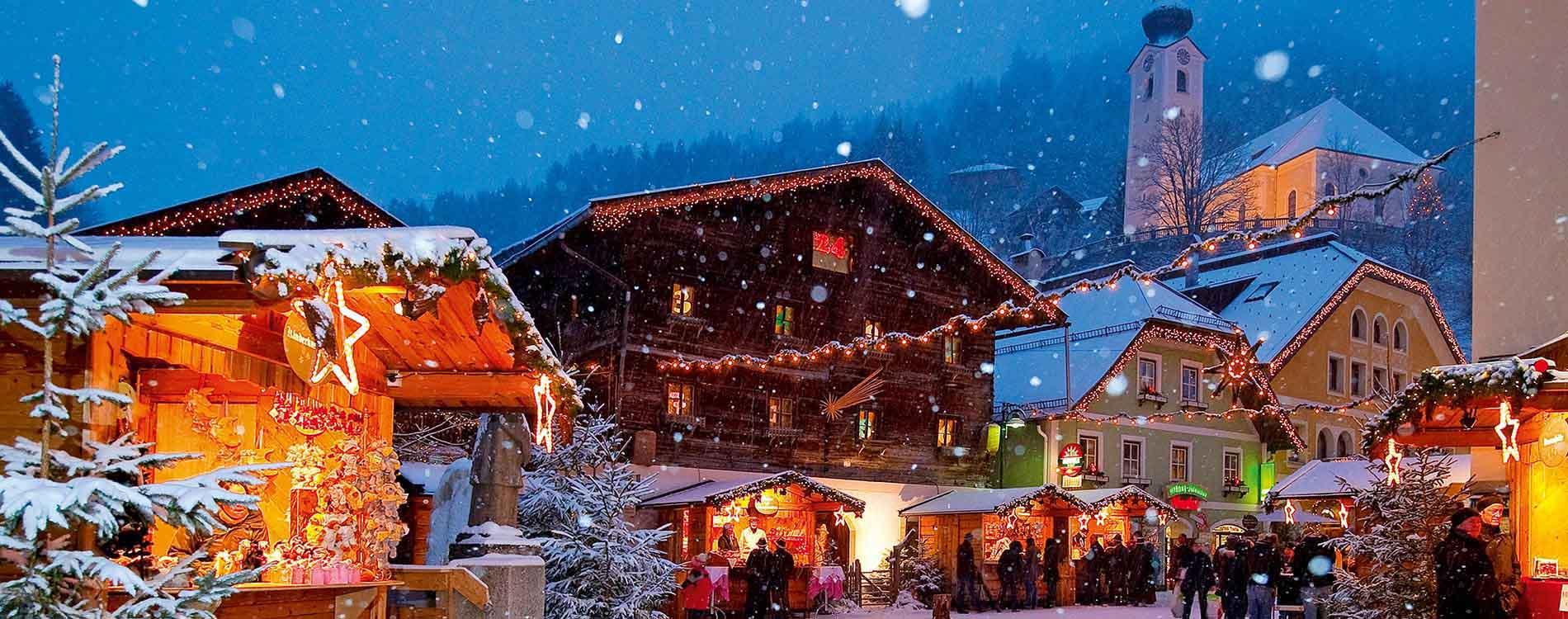 Mountain Christmas - Small Luxury Hotels Grossarler Hof Grossarl Salzburg - Niche Destinations