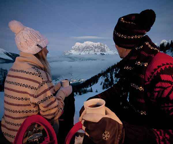 Romance in a winter wonderland Singer Sporthotel & SPA Berwang