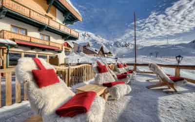 Ski-in and ski-out at Hotel Arlberghöhe Niche Destinations Austria