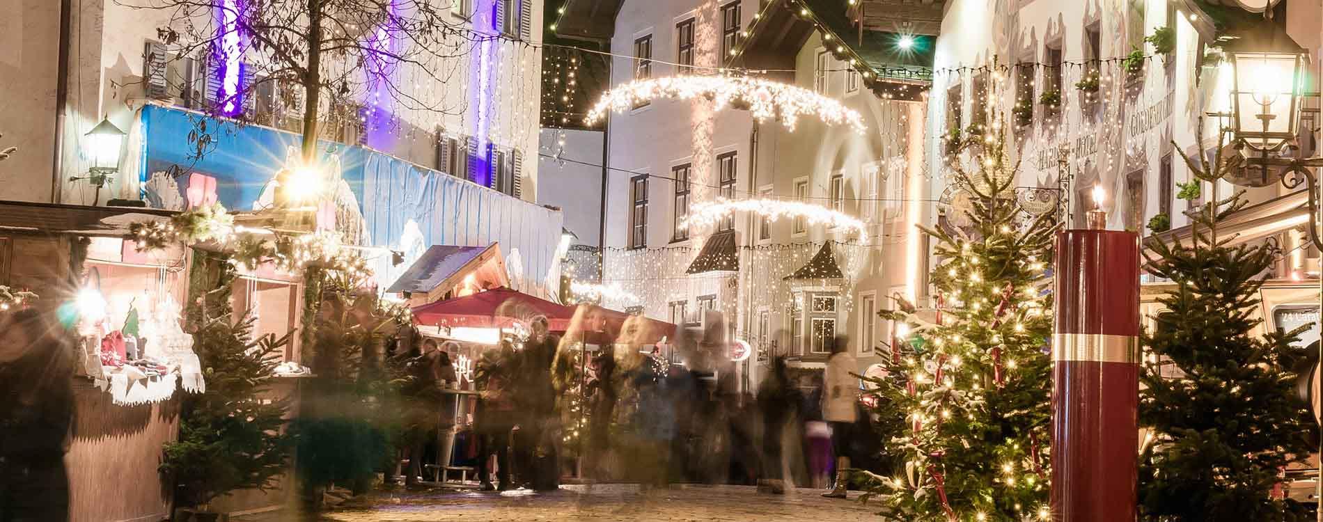Advent in Kitzbühel Hotel Restaurant SPA Rosengarten niche destinations