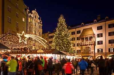Advent in Innsbruck SPA-Hotel Jagdhof Neustift Stubai Austria