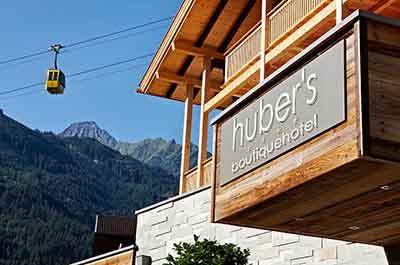 Hubers Boutiquehotel Mayerhofen Tyrol Austria