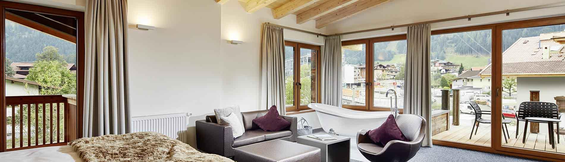 HUBERS Boutiquehotel Mayrhofen Zillertal Tyrol Austria