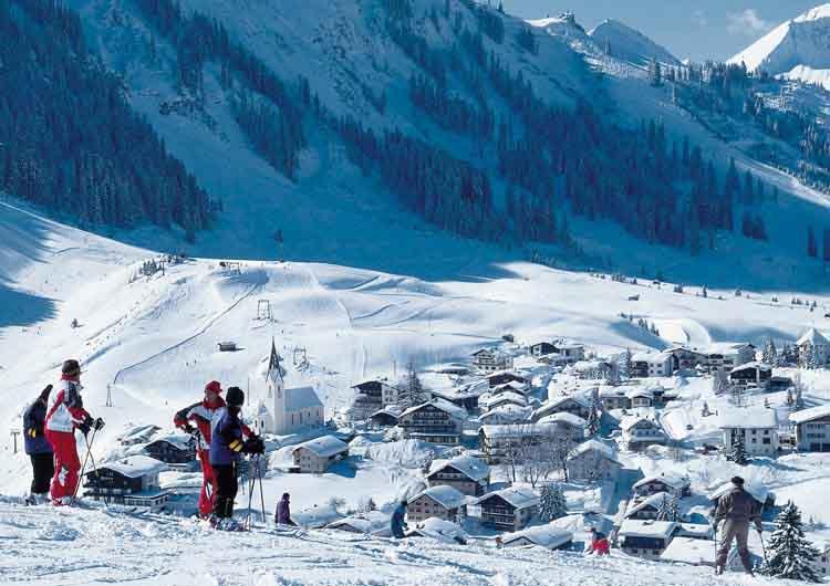 Singer Sporthotel SPA 4 Star Berwang Tyrol Skiing Holidays Niche Destinations Ski Area Berwang
