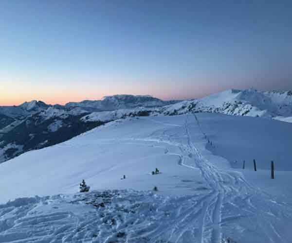 Ski touring at Small Luxury Hotel Grossarler Hof Grossarl Salzburg - Niche Destinations