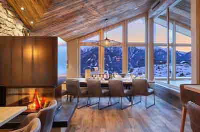 niche destinations Hotel Tirol Fiss Ladis-Fiss-Serfaus Tirol Austria Lifestyle-Hotel Sky Table