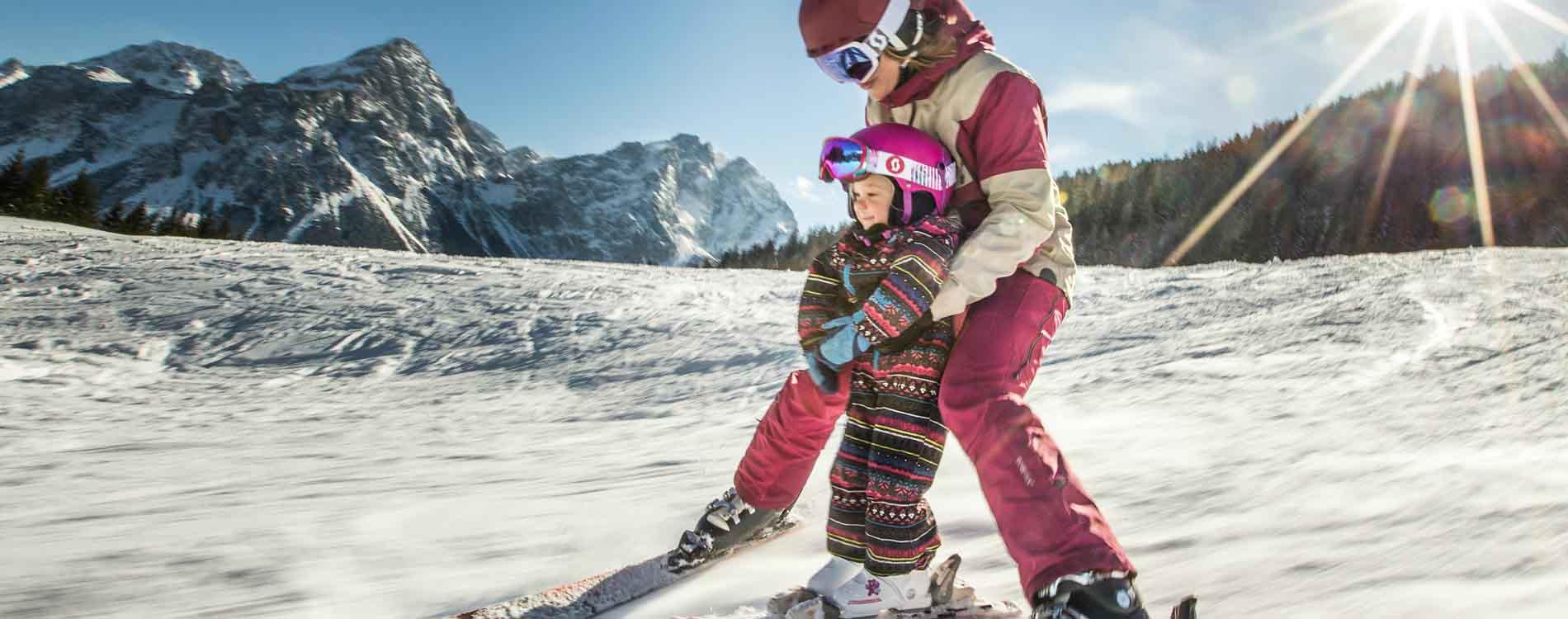 niche destinations 4-star Tirolerhof Ehrwald Tyrol Austria Tyorlean Zugspitz Arena wellness skiing family fun