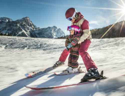 Winter magic: skiing and pampering