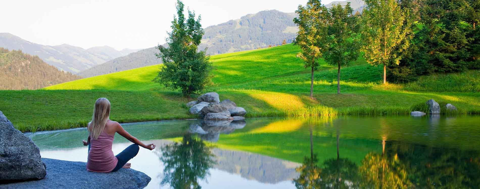niche destinations Pirchner Hof Reith Tyrol Hildegard von Bingen Easter yoga breaks