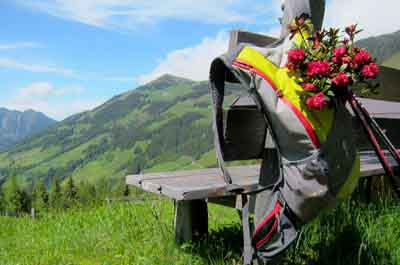 niche destinations Pirchner Hof Reith Tyrol Hildegard von Bingen spring hiking holiday