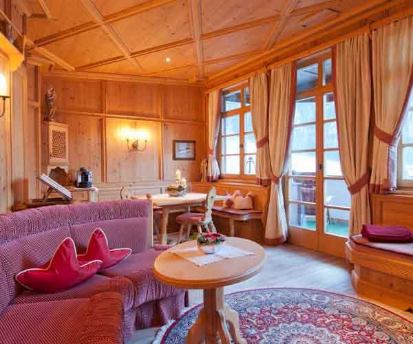 niche destinations Relais Chateuax SPA-Hotel Jagdhof 5 Stars Luxury Stubai Valley Neustift Tyrol Austria sunshine skiing family easter