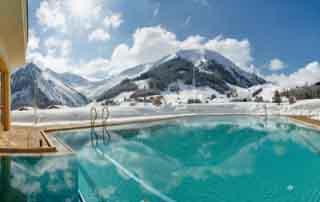 niche destinations Singer Sporthotel SPA 4 Star Stuperior Berwang Austria Tyrolean Zugspitz Arena romantic getaway
