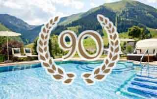 niche destinations Singer Sporthotel SPA 4-Star-Superior Berwang Austria Tyrolean Zugspitz Arena Happy 90 Years