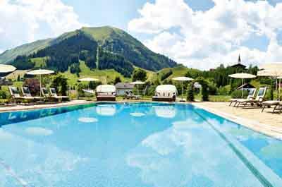 niche destinations Singer Sporthotel SPA 4-Star-Superior Berwang Austria Tyrolean Zugspitz Arena Tyrolean Summer Wellness