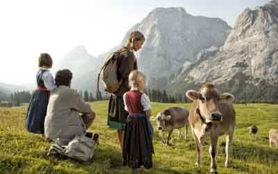 niche destinations Singer Sporthotel SPA 4-Star-Superior Berwang Austria Tyrol autumn holiday