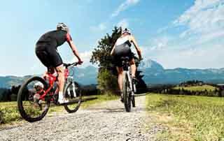 Biking package 4 nights Austria Kirchberg Tyrol Rosengarten Summer Sports