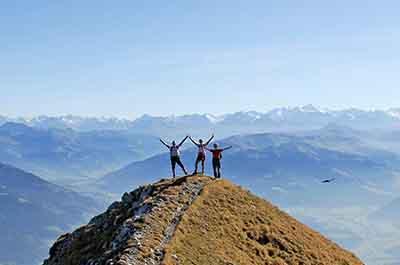 Hiking in the Kitzbühel Alps The Good Deal Hiking Week hotel Rosengarten Tyrol Austria