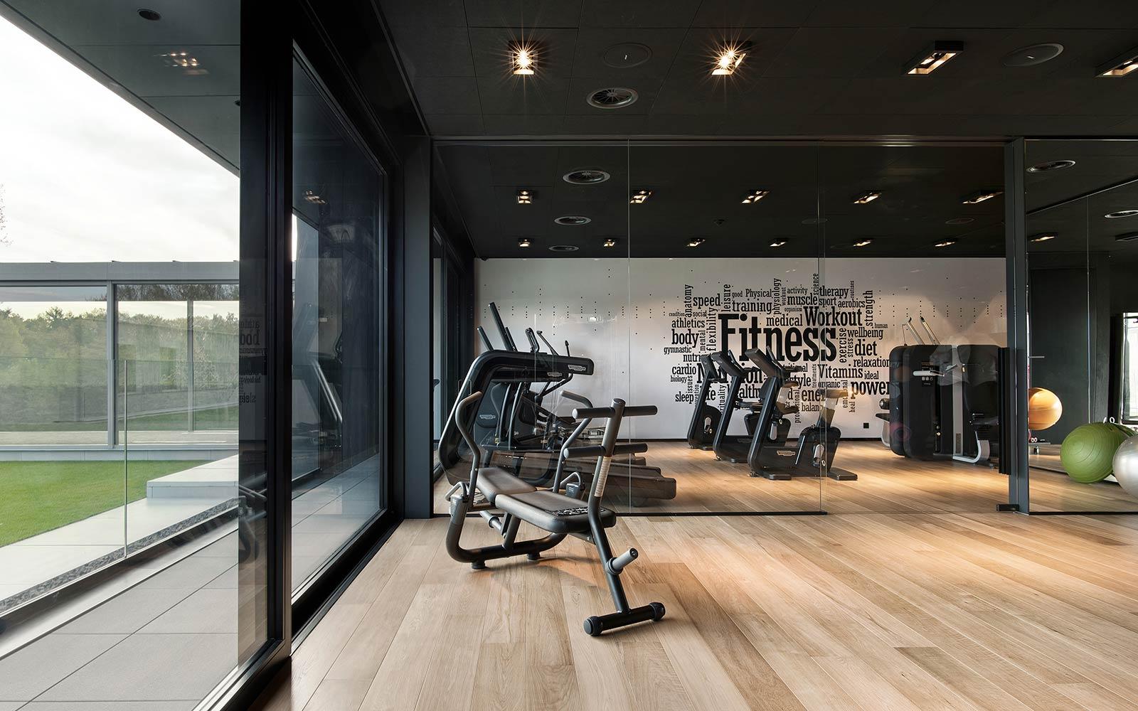 Spa Retreat La Foret Le Gym