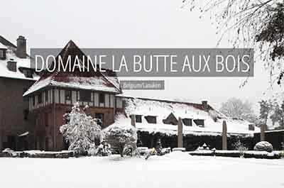 Domaine La Butte aux Bois Lanaken Belgium Niche Destinations Winter