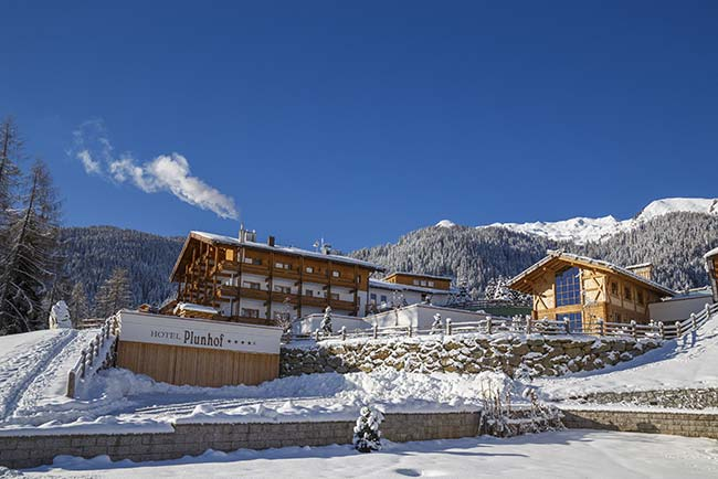 4 star superior hotel Plunhof Ridnaun South Tyrol Italy