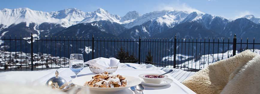 5 star Schlosshotel Fiss Tyrol Austria foodie place