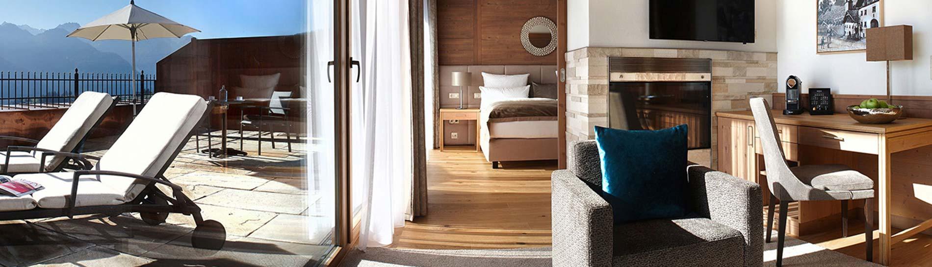 5 star wellnesshotel Schlosshotel Fiss Tyrol