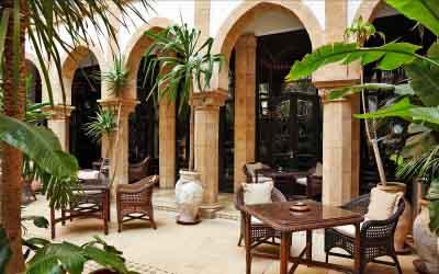 Heure Bleue Palais Essaouira Morocco Hotel Authentic Moroccan riad