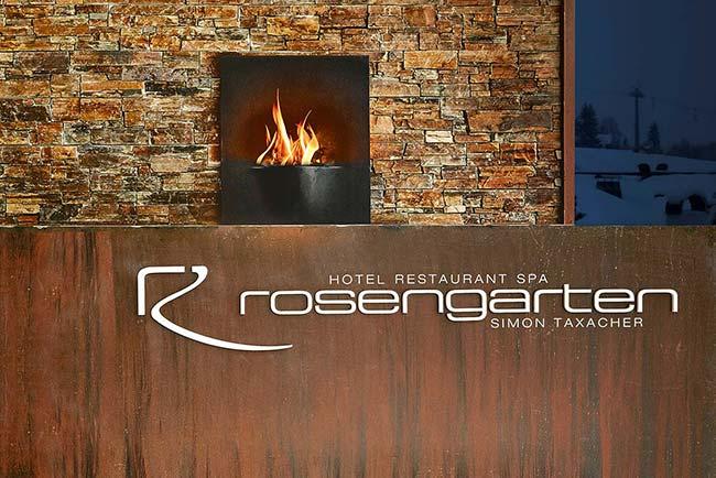 Hotel Rosengarten Kirchberg entry