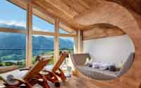 Hotel Tirol Fiss Serfaus-Ladis-Fiss Tyrol Austria Lifestyle-Hotel Winter Holidays Skiing New fourth floor Gipfel SPA