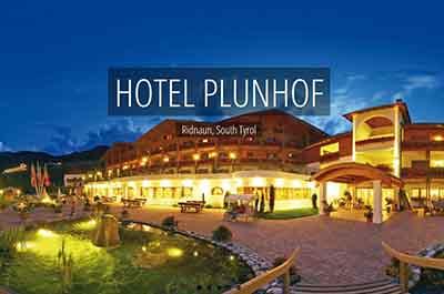 Plunhof Ridnaun South Tyrol Italy Spa Wellness Hotel - Niche Destionations