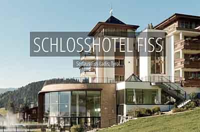 Schlosshotel Fiss Serfaus Ladis Tyrol Spa Wellness Hotel