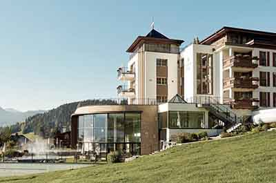 chlosshotel Fiss Ladis Tyrol Spa Wellness Hotel Niche Destionations