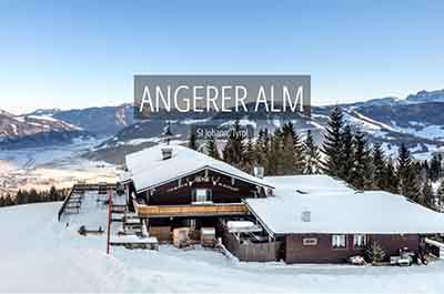 Winter Angerer Alm St. Johann Tyrol Austria Niche Destinations