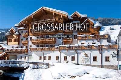 Winter GROSSARLER HOF Grossarl Wellness Salzburg SalzburgerLand Niche Destinations