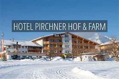Winter Hotel & Farm Pirchner Hof Reith Tyrol Austria - Niche Destinations