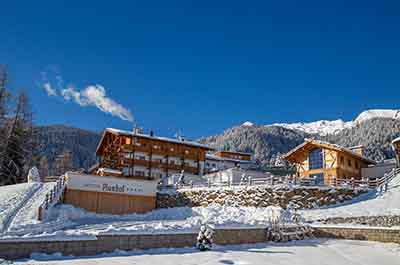 Winter Plunhof Ridnaun South Tyrol Italy Spa Wellness Hotel - Niche Destionations