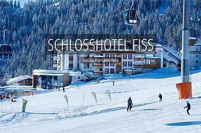 Winter Schlosshotel Fiss Ladis Tyrol Spa Wellness Hotel Niche Destinations