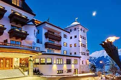 Winter Schlosshotel Fiss Ladis Tyrol Spa Wellness Hotel - Niche Destionations