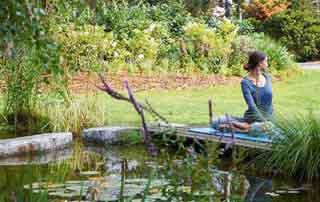 Park Igls A short respite for body and mind